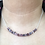 Thumbnail: Mystic Coated Spinel and Sterling Silver Necklace