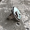 Thumbnail: Poseidon Variscite and Fine/Sterling Silver Ring (size 7.5)