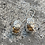 Thumbnail: Rustic Chert and Sterling Silver Earrings