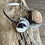 Thumbnail: White Buffalo and Fine/Sterling Silver Cuff