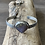 Thumbnail: Rare Purple Fossil Coral and Fine/Sterling Silver Cuff