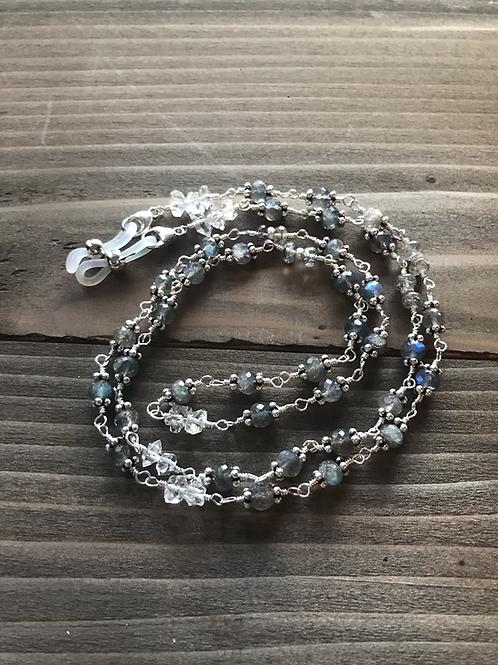 3-in-1 OOAK Gemstone Eyeglass Chain/Lanyard/Necklaces