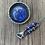 Thumbnail: Lapis Lazuli and Fine/Sterling Silver Pendant