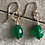 Thumbnail: Green Onyx and 14k Gold Fill Earrings