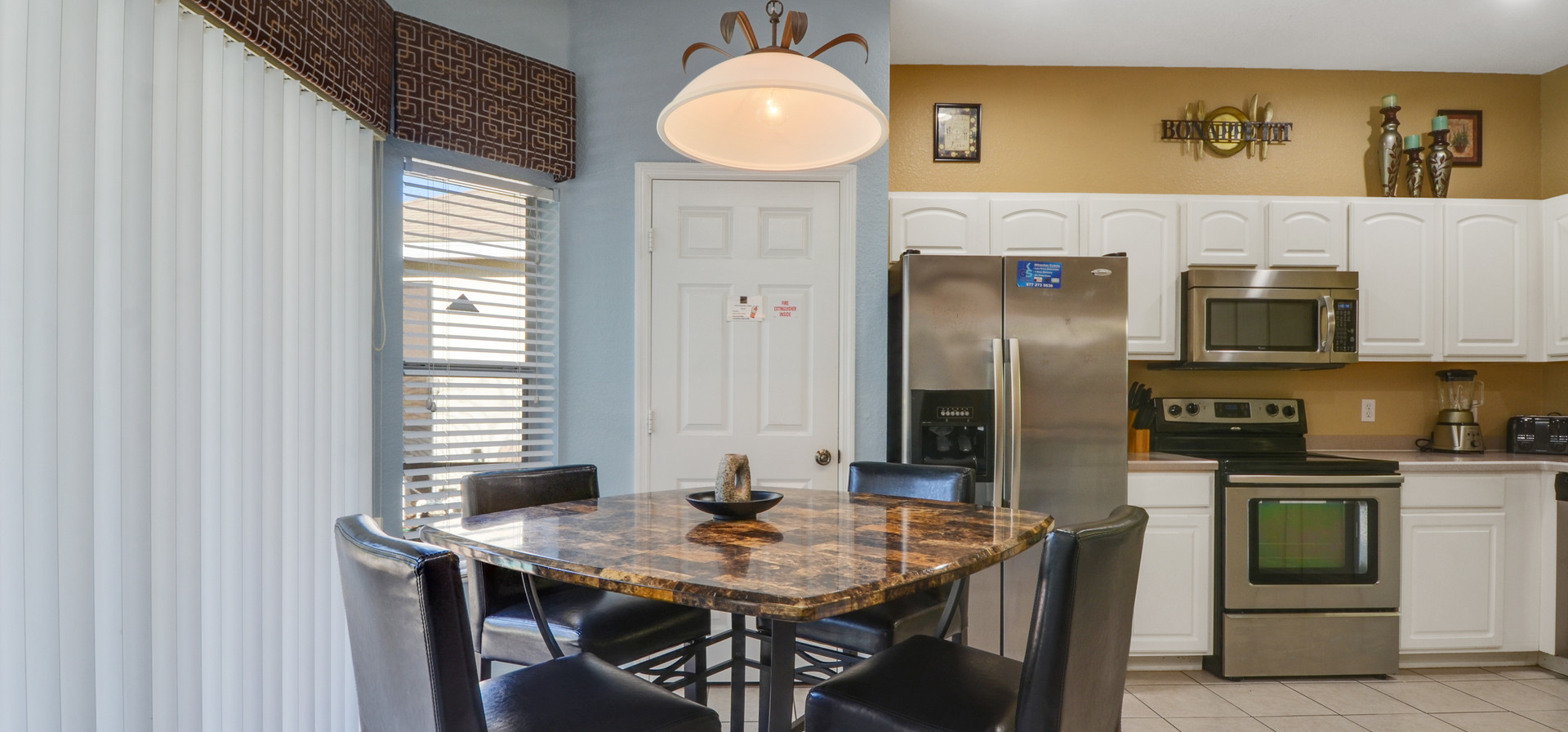 Casual Dining in Kitchen