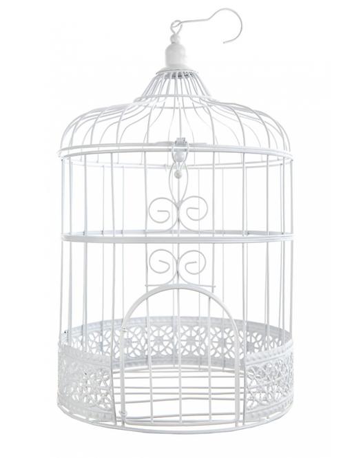 Petite cage à oiseaux ronde