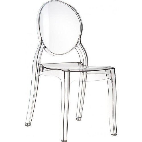 Chaise Crystal transparente