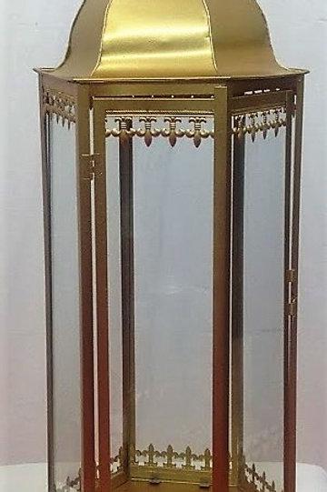 Lanterne orientale dorée