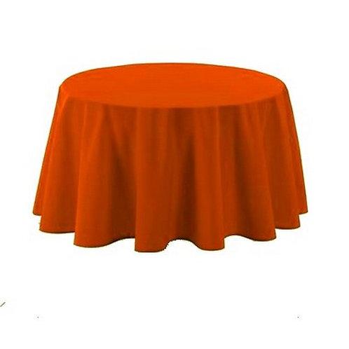 Nappe ronde orange 280cm