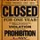 Thumbnail: Visuel Prob Closed - 50x70 cm
