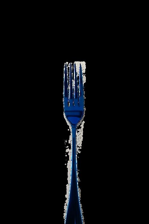 Fourchette à déssert 1K -Bleu saphir