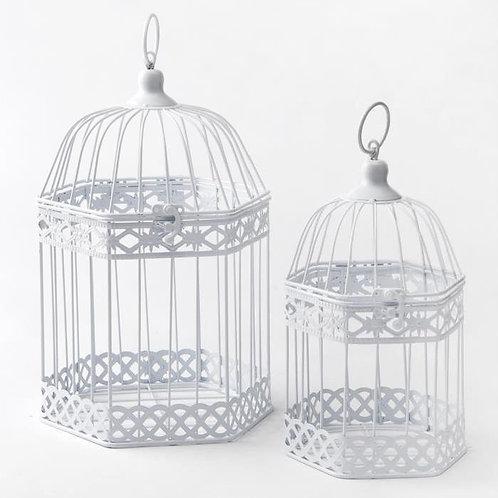 Cage à oiseaux grande avec 6 côtés