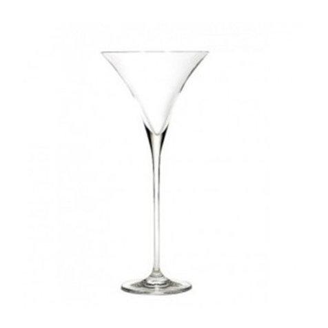 Vase martini transparent