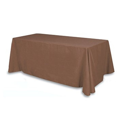 Nappe rectangulaire brune 200x240cm