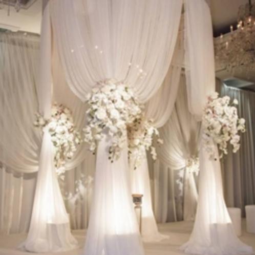 Tonnelle de mariage circulaire jusqu'à 3 m diamètre