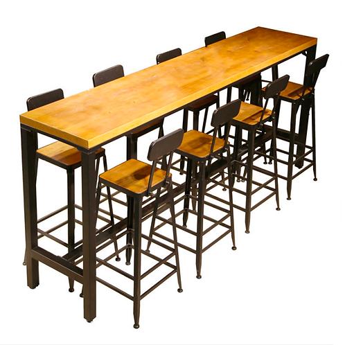 Set de mobilier industrielle