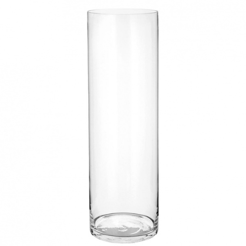 Vase cylindrique 10x40 cm