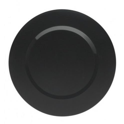 Assiette de présentation Noire 33cm
