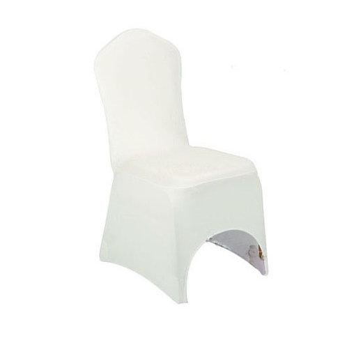 Housse de chaise crème