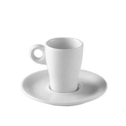 Tasse à espresso blanche 9 cl et sous-tasse