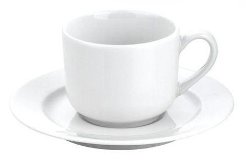 Tasse à thé blanche 20 cl et sous-tasse