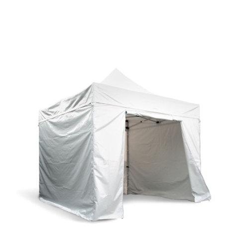 Tente de réception PVC 3 x 3m avec parois latérales