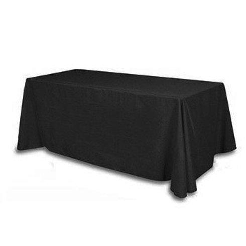 Nappe rectangulaire noire 110x140cm
