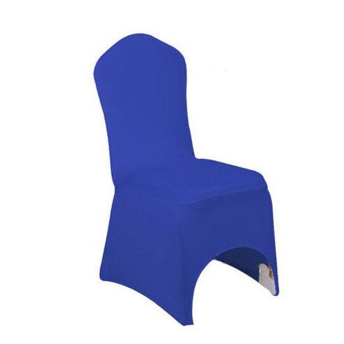 Housse de chaise bleu roi