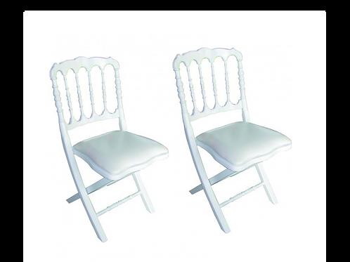Lot de Chaise Napoléon
