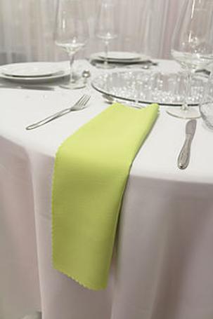 Serviette classique vert anis