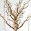 Thumbnail: Petit arbre doré 75 cm