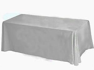 Nappe rectangulaire gris foncée 200x240cm