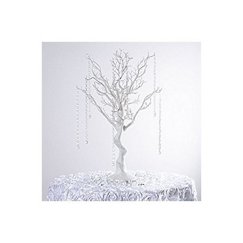 Petit arbre blanc 75 cm