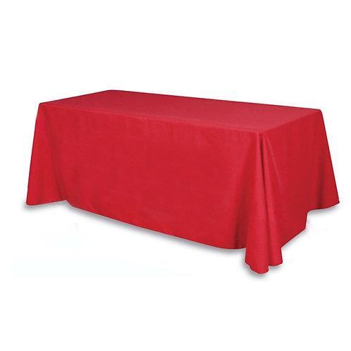 Nappe rectangulaire rouge 200x240cm