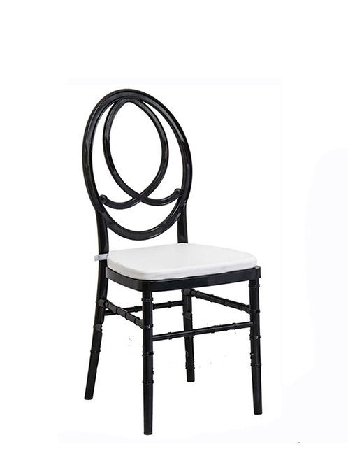 Chaise Fenix noire
