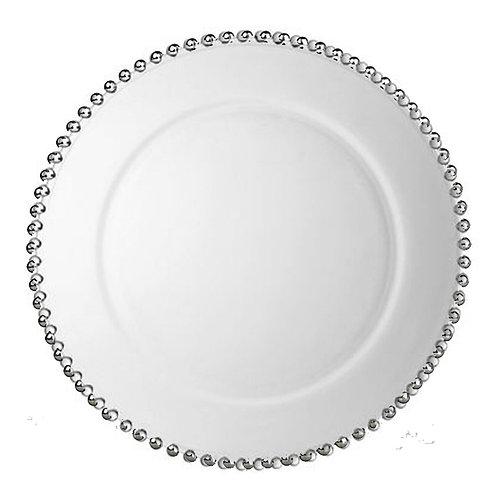Assiette de présentation Argenté Perle 32cm