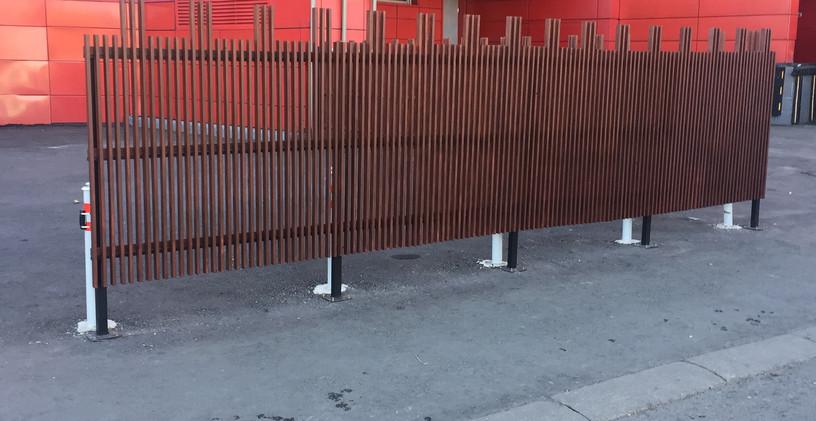 Красный Кит декоративные заборы