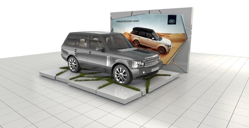 Подиумы для автомобилей