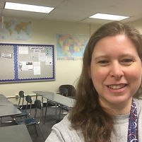 Mrs. W-D in her classroom