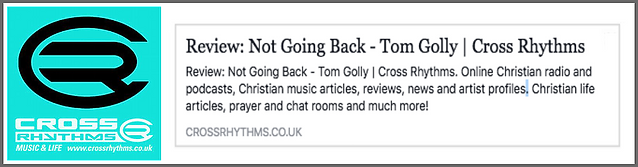 CrossRhythms Tom Golly