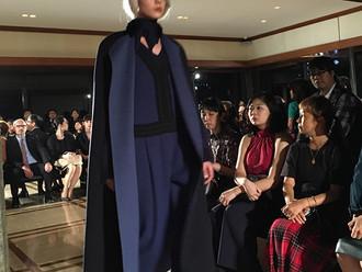 イタリア大使館大使公邸AGNONA(アニオナ)のファッションショー&エキシビジョン