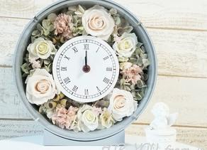 花時計丸型