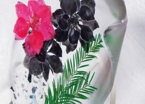クリアリウム フィットリウムで 福岡 教室 押し花