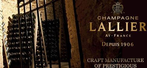 Fejø Vin har Lallier Champagne