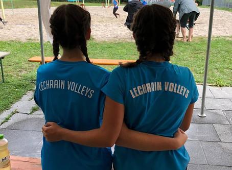 Hochverdienter 4. Platz für Caja Karpf und Isabel Wildner bei den Bezirksmeisterschaften U19