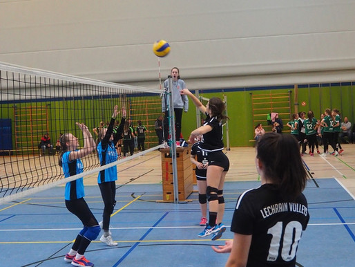 Am Wochenende greifen die Volleyball-Mädels wieder an