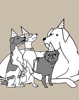 Dog Birthdy Parties