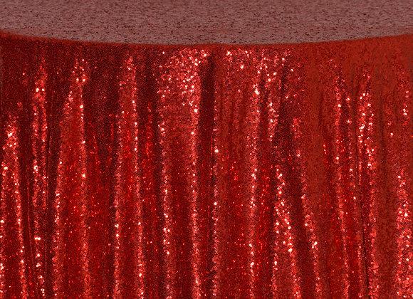 Sequin Mini Red