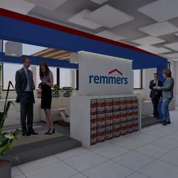 Interier a showroom společnosti Remmers
