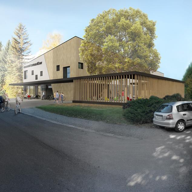 Soutěž komunitní centrum Říčany